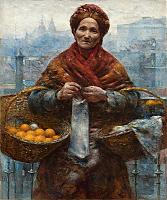 Aleksander Gierymski, Żydówka z pomarańczami
