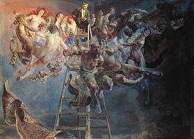 Vicious circle by Jacek Malczewski