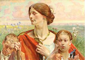 Country by Jacek Malczewski