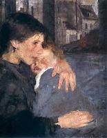 Motherhood by Olga Boznańska